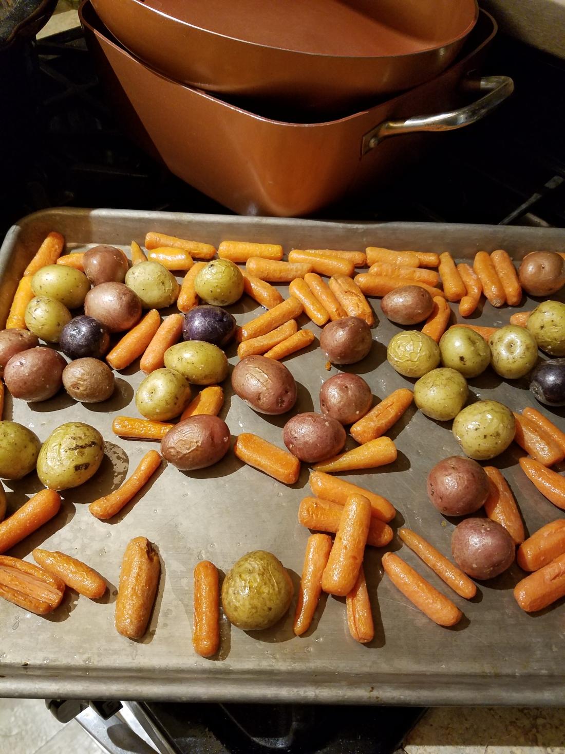 roasted veg for stew